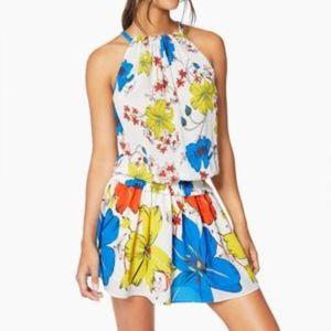 RAMY BROOK Printed Holly Dress in Lemon Combo